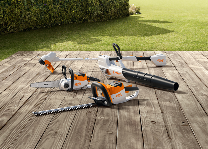 Stihl accu-machines